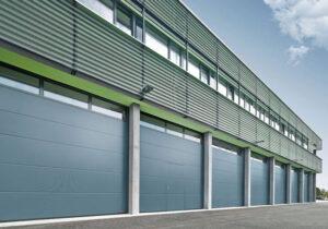 ворота Hörmann секционные промышленные