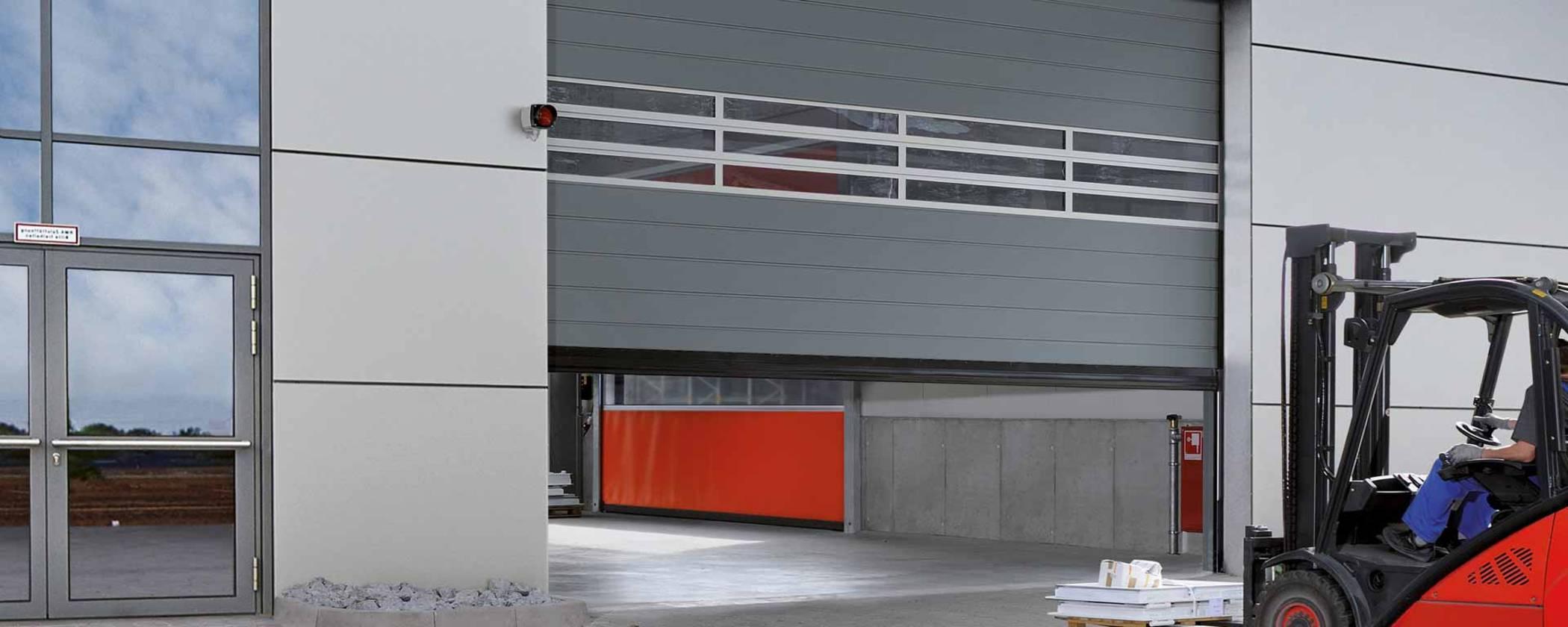 скоростные ворота Hörmann промышленные
